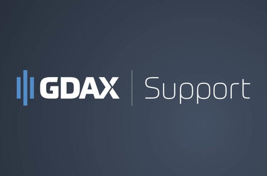 Gdax (coinbase) ne supportera pas le BitcoinCash