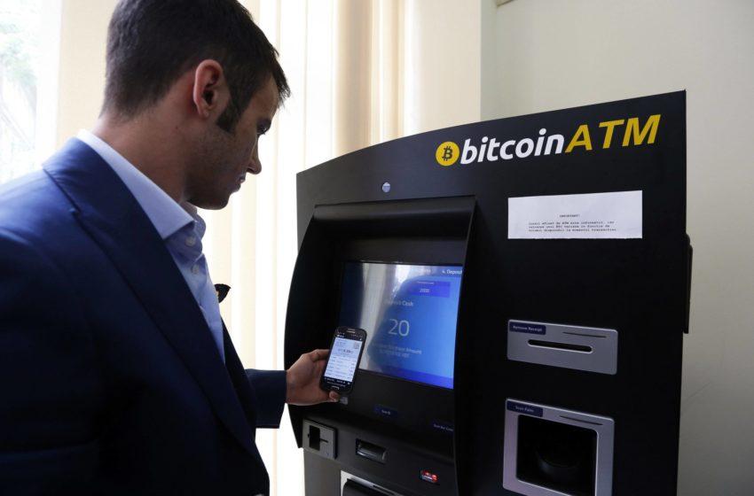 Des dealeurs blanchiraient de l'argent avec des distributeurs de Bitcoins