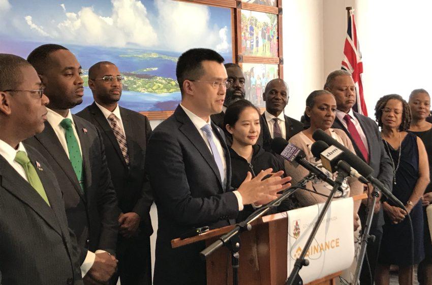 Binance aux Bermudes, un projet qui se concrétise