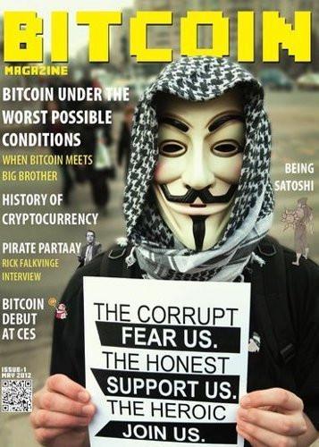 Couverture de Bitcoin Magazine 2012