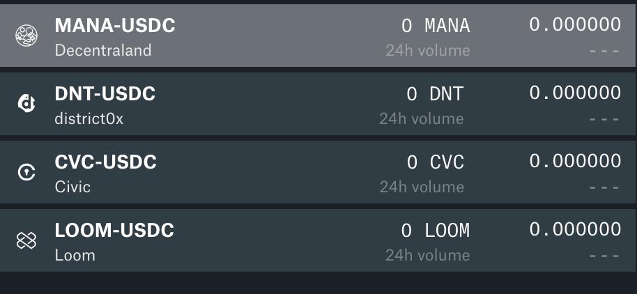 Coinbase pro screen