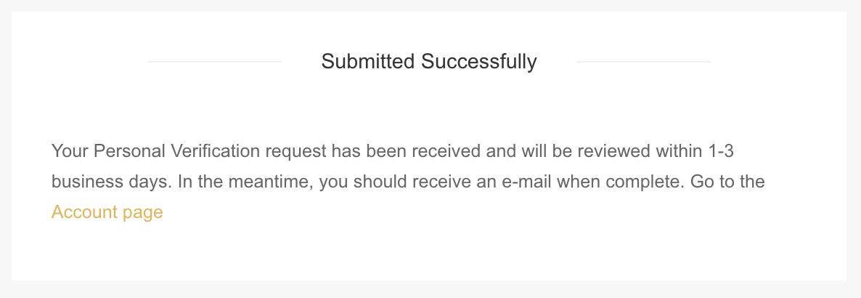 Envoyé avec succès