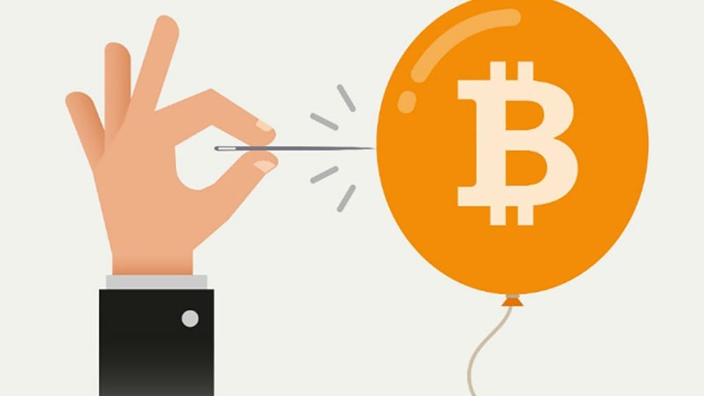 Bulle financière Bitcoin - Financial bubble
