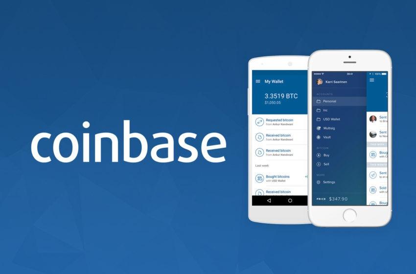 Tutoriel d'utilisation de la plateforme Coinbase
