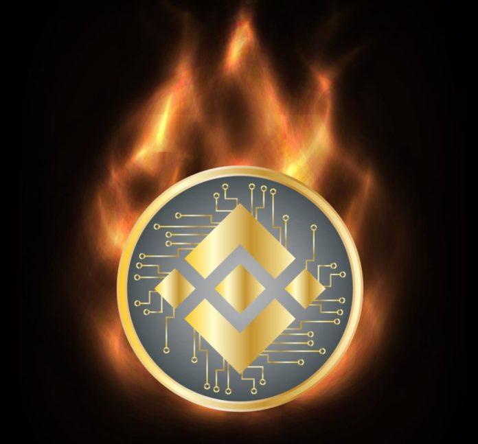 burn binance coin