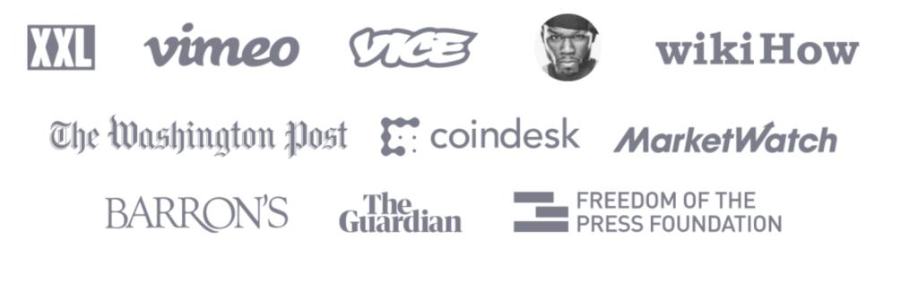Voici une liste de plusieurs créateurs de contenu qui se sont faits vérifier par les services de Brave. CryptoActu en fait parti !