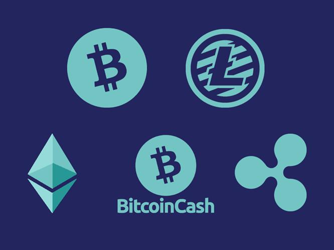 logos de cryptomonnaies
