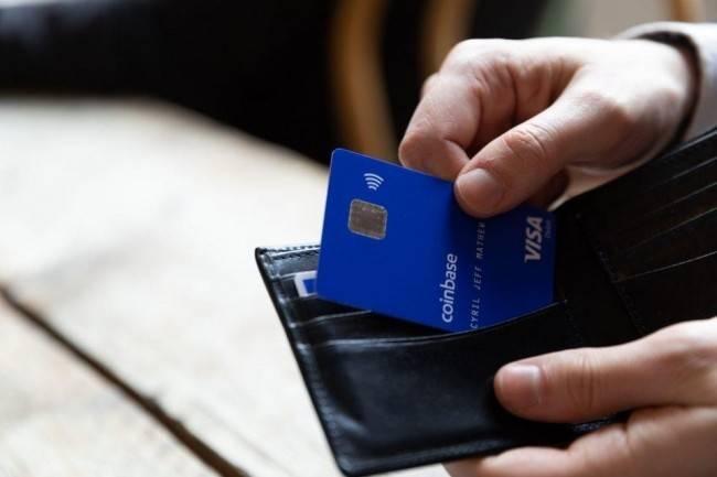 La carte bancaire Visa Coinbase à portée de main