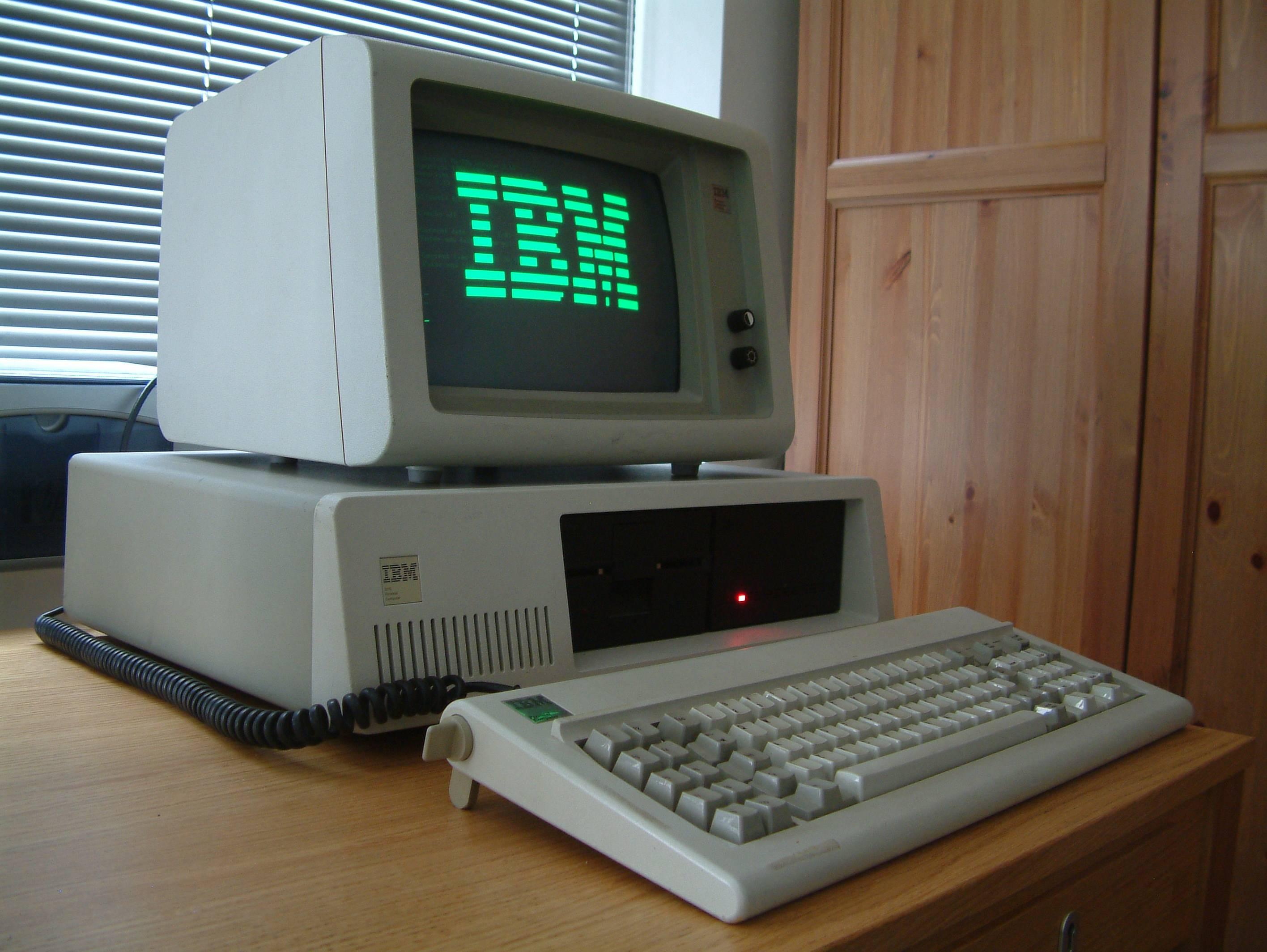 IBM et l'informatique, une grande histoire d'amour.