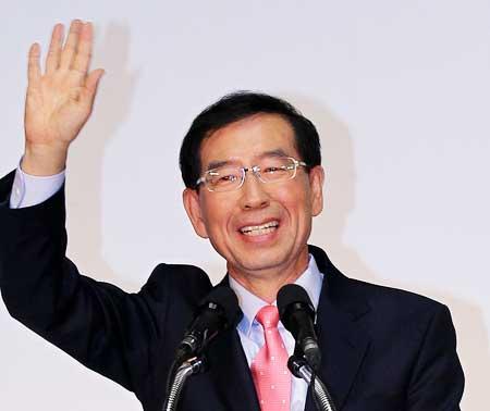 Park-Won soon, maire de Séoul