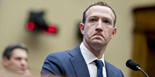 Mark Zuckerberg - CEO de Facebook et très impliqué dans le lancement du Libra