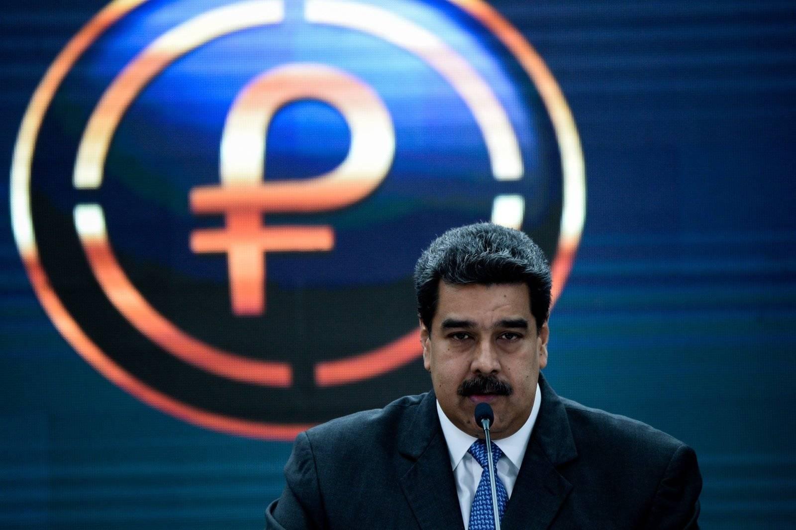 Maduro lance le Petro en 2018