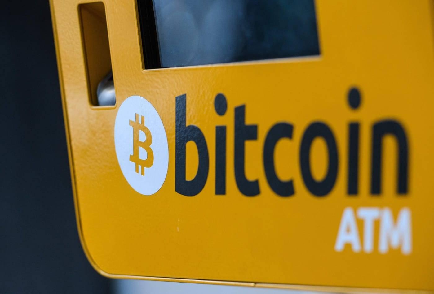 Un ATM Bitcoin.