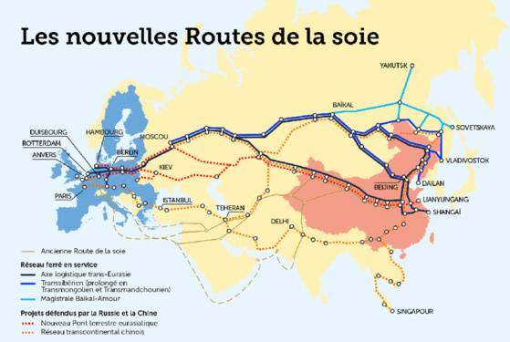 Les nouvelles routes de la soie.
