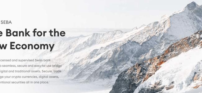 SEBA, La crypto-banque suisse qui vous permet de gérer vos Bitcoins