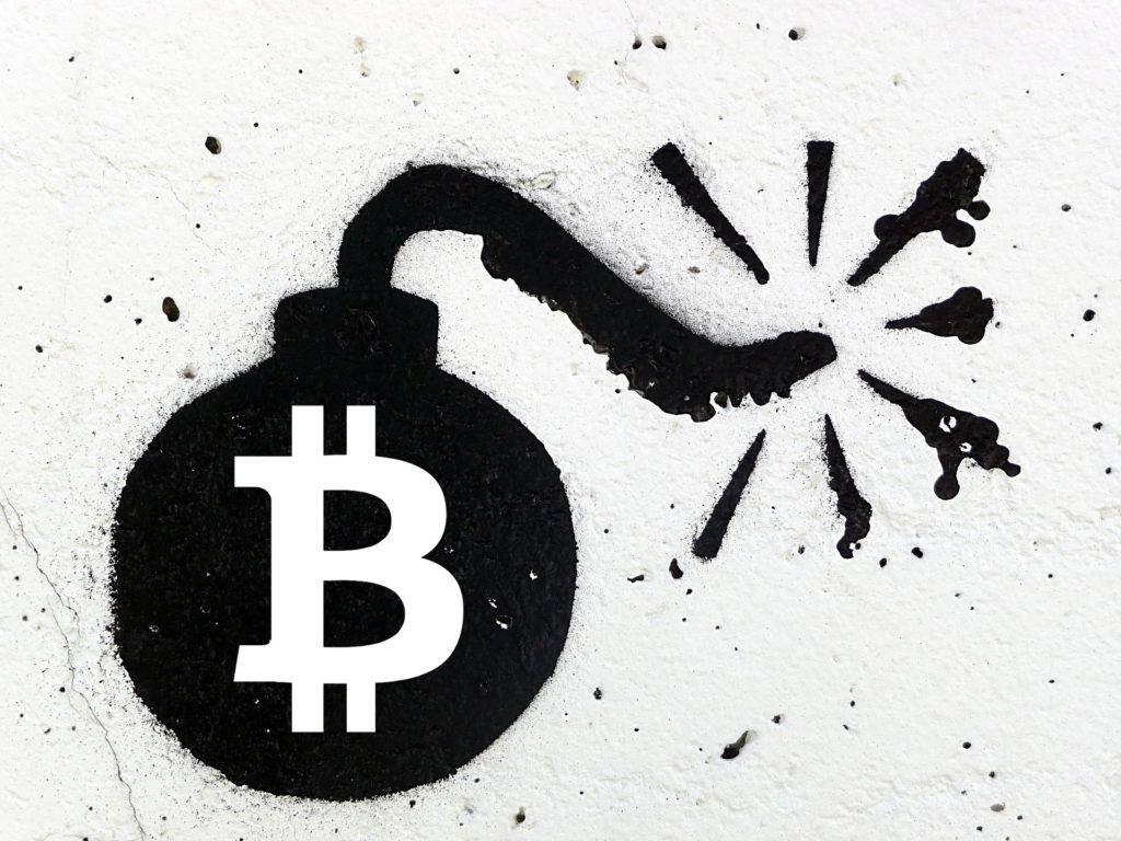 Bitcoin BTC bombe
