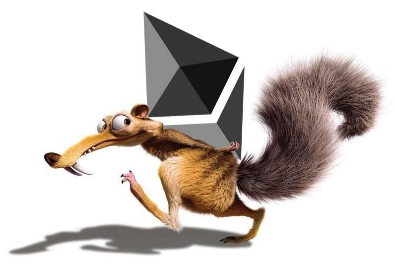 Ethereum ETH age de glace