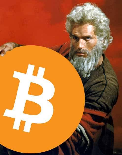 Moïse Bitcoin BTC