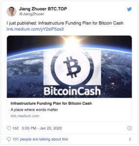 Jiang Zuhoer Bitcoin Cash BCH