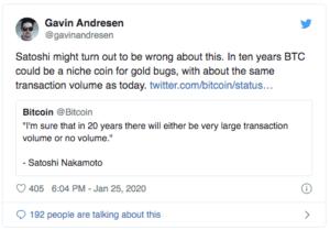 Gavin Andresen Bitcoin