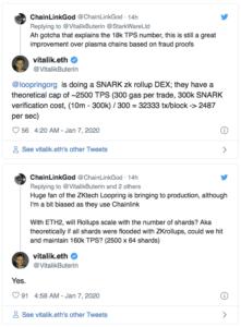 Vitalik Buterin Ethereal 2.0 Chainlink $LINK