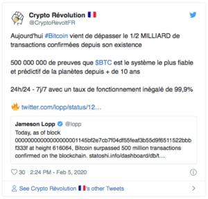 Bitcoin $BTC 2020
