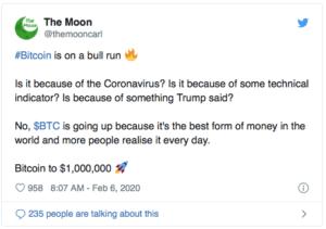 Bitcoin $BTC The Moon