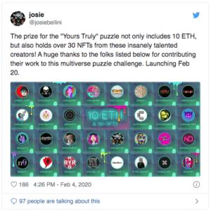 Josie Puzzle NFT