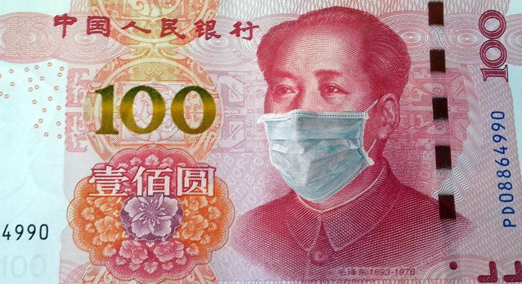 Chine Billets quarantaine Bitcoin $BTC