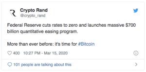 Crypto Rand Twitter $BTC
