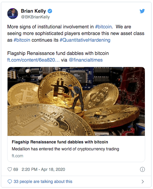 institutionnels et Bitcoin