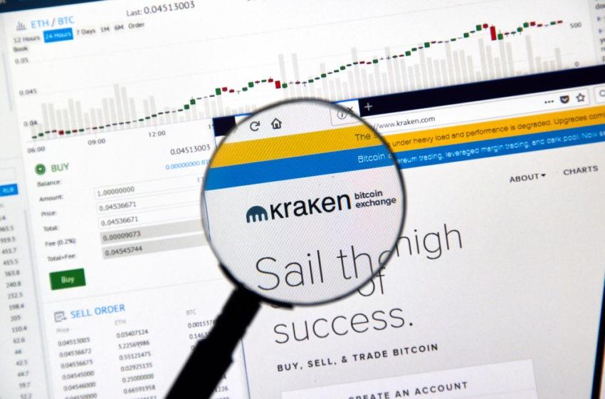 Kraken, panne passagère et nouvelles paires de trading