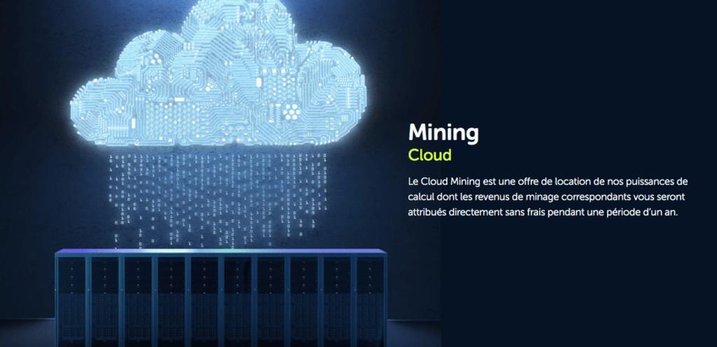 Le cloud mining avec Feel mining