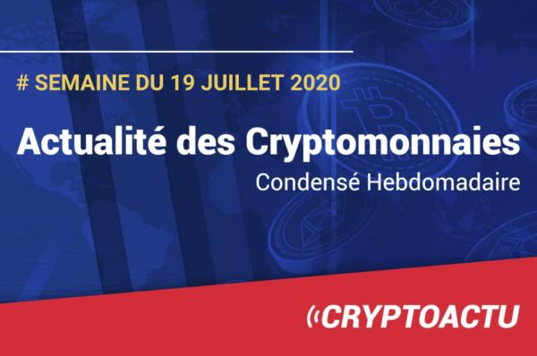 Actualités des cryptomonnaies