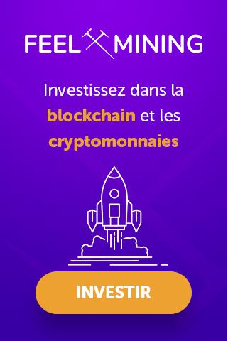 Investissez dans la blockchain et les cryptomonnaies avec Feel Mining