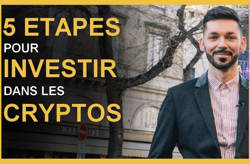 Comment investir dans les cryptomonnaies en 5 étapes?