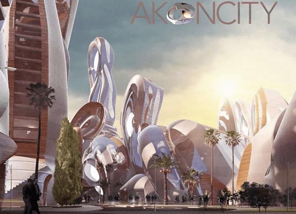 Akon city et sa cryptomonnaie Akoin