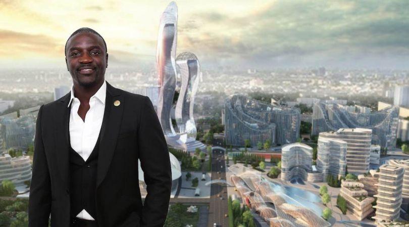 Le rappeur américain Akon va construire une Crypto City au Sénégal