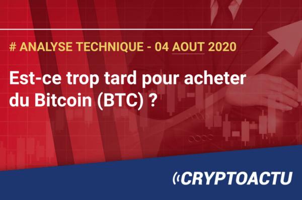 Est-ce trop tard pour acheter du Bitcoin ?