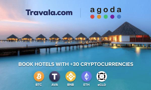 Travala.com en partenariat avec Agoda