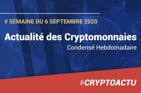 Actualité des cryptomonnaies Bitcoin Tezos Elrond DeFi