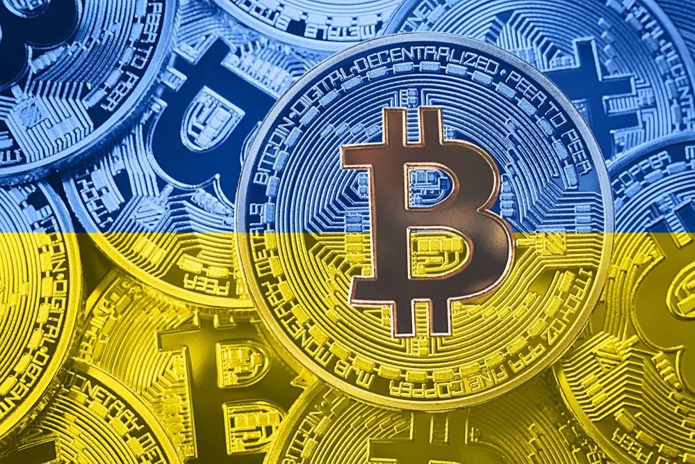Ukraine reine des cryptos