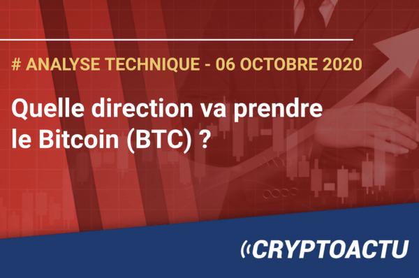 Analyse technique : Quelle direction va prendre le Bitcoin (BTC) ?