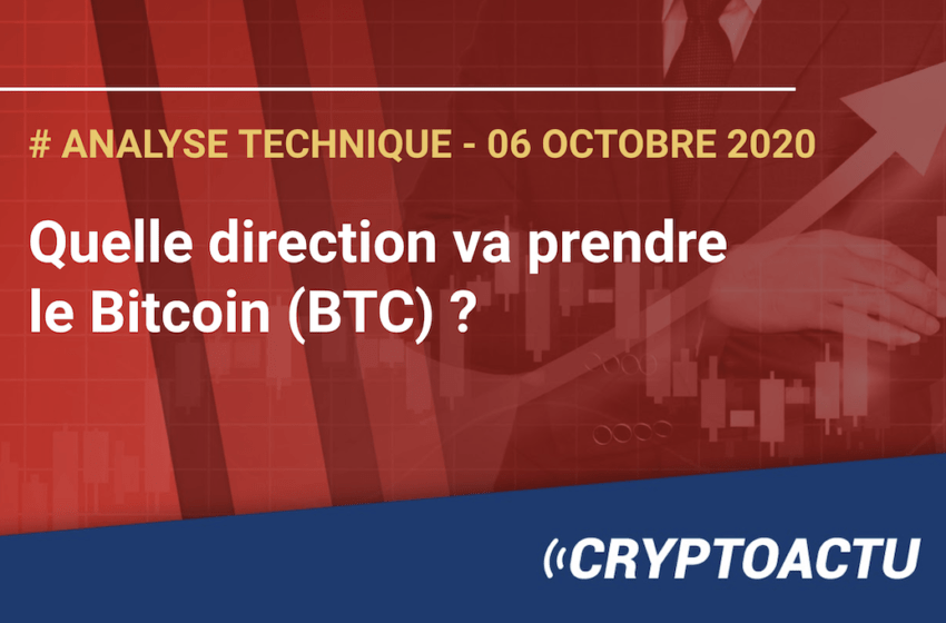Analyse technique – Quelle direction va prendre le Bitcoin (BTC) ?