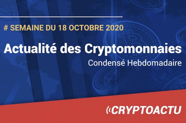 Actualité des cryptomonnaies
