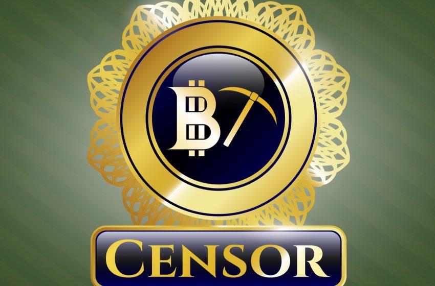 La censure gagne le mining