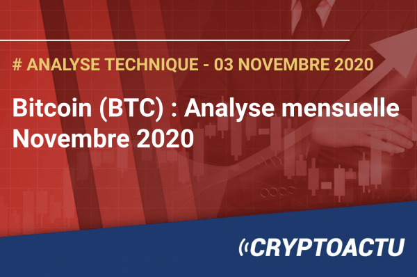 Bitcoin : analyse technique novembre 2020