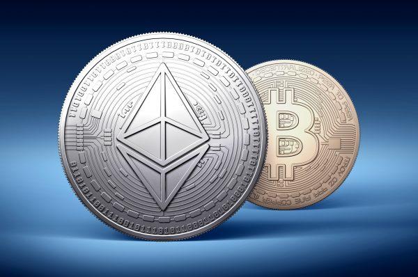 Ethereum vs Bitcoin rendement YTD