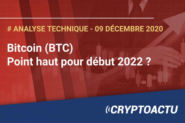 Bitcoin - Point haut pour début 2022 ?