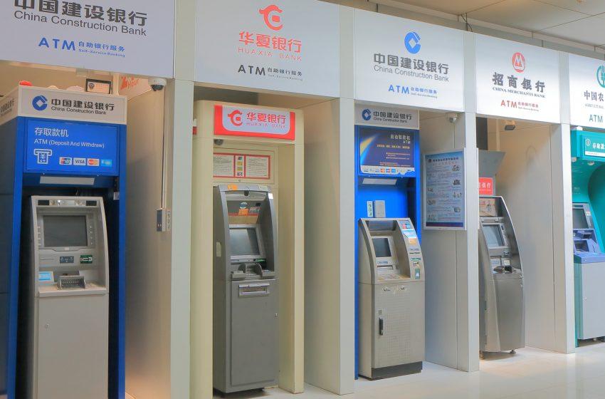Des distributeurs automatiques de yuan numérique